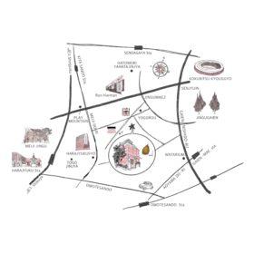 神宮前カフェ neel周辺Map